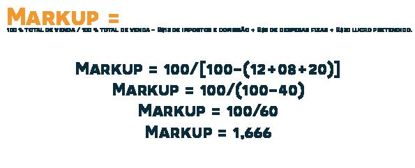 markup: fórmula e cálculo