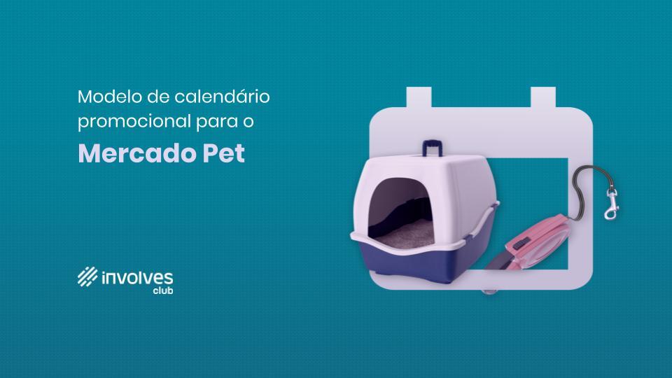 Calendário promocional 2020 - Mercado Pet